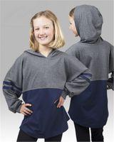 Boxercraft Youth Hooded Pom Pom Jersey YT18
