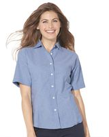 FeatherLite Women's Short Sleeve Stain Resistant Oxford Shirt 5231