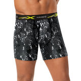 Hanes Men's Xtemp Mesh Printed Boxer Brief 4-Pack XTMBP4