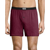 Hanes Men's 1901 Heritage Dyed Knit Boxers Assorted 4-Pack 191BX4
