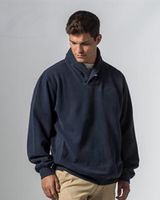 MV Sport Vintage Fleece Button Pullover 19146