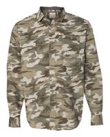 Weatherproof Vintage Camo Long Sleeve Shirt 154622