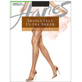 Hanes Absolutely Ultra Sheer Control Top Reinforced Toe Pantyhose 706