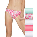 Hanes Women's Ultimate Cotton Stretch Women's Bikini 5-Pack 42CSW5