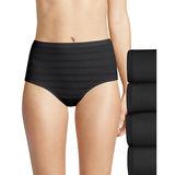 Hanes Women's Ultimate Comfort Flex Fit Brief 4-Pack 40CFF4