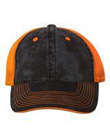 Outdoor Cap Washed Brushed Mesh Cap CGWM301