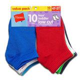 Hanes Boys Toddler Low Cut Sock 10-Pk 28/10