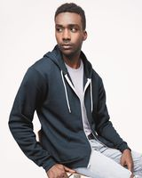 American Apparel Unisex Flex Fleece Zip Hoodie - USA F497US
