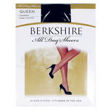 Berkshire 4416 Queen Size All Day Sheer Pantyhose Non Control Top ST