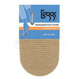 L'eggs Seamless Nylon Foot Cover 2 pair 3925