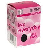 L'eggs Everyday ST Knee Highs 10 pair 39800