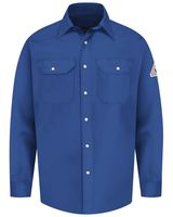 Bulwark Snap-Front Uniform Shirt - EXCEL FR Long Sizes SES2L