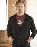 Anvil Triblend Full-Zip Hooded Long Sleeve T-Shirt 6759