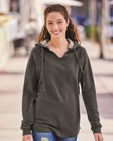 Independent Trading Co. Women's Lightweight California Wave Wash Hooded Sweatshirt PRM2500