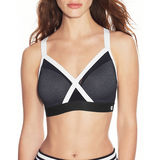 Champion The Curvy X-Back Sports Wirefree Bra B1091A