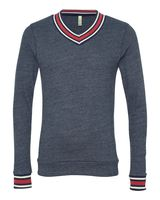 Alternative Eco Cashmere V-Neck Sweathshirt 9594