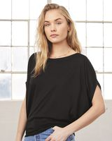 Bella + Canvas Women's Flowy Circle Top 8806
