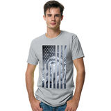 Hanes Mens Liberty Flag Graphic Tee Shirt GT49C/A4