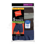 Hanes Mens TAGLESS ComfortSoft Knit Boxers with ComfortSoft Waistband 5-Pk MKCBX5