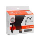 JMS Reinforced Toe Knee High 4-PK 88700