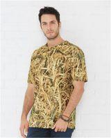 Code Five Men's Camouflage Crew Neck T-Shirt 3968