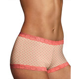 Maidenform Microfiber and Lace Boy short 40760