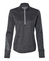 Adidas Women's Brushed Terry Heather Quarter-Zip A285