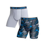 Champion Men's Ultra Lightweight Regular Leg Boxer Brief 2-Pack CHLWA4