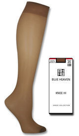 Blue Heaven Sheer Knee High 115