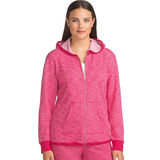 Hanes Women's French Terry High Low Zip Hoodie 4A03