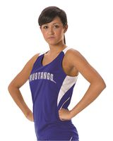 Alleson Athletic Women's Loose Fit Track Tank A00223
