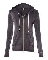 MV Sport Women's Angel Fleece Hooded Full-Zip Sweatshirt W2350