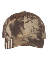 Outdoor Cap Camo Cap with Flag Visor CWF305