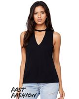 Bella + Canvas Fast Fashion Women's Flowy Cut Neck Tank 8808