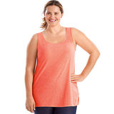 Just My Size X-Temp Short-Sleeve Scoop-Neck Women's Shirred Tank Top OJ228