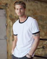 Anvil Lightweight Ringer T-Shirt 988