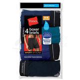 Hanes Big Mens Sport Styling Boxer Brief 4-Pk 2396P4B