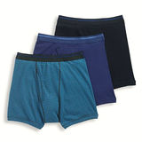 Jockey Men's Classic 100% Cotton Full Rise Boxer Brief - 3 Pack 9977