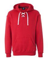 J. America Sport Lace Hooded Sweatshirt 8830
