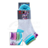 Hanes Classics Girls Ankle Socks 4-Pk 779/4