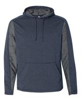 J. America Omega Stretch Terry Hooded Pullover 8435