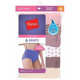 Hanes Women's Plus Cotton Brief 5-Pack P540WH