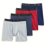 Jockey Men's Activeblend Midway Brief - 4 Pack 9066