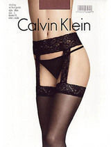 Calvin Klein Stocking with lace garter 386N