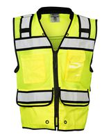 ML Kishigo High Performance Surveyors Zipper Vest S5004-5005