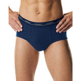 Hanes Men's TAGLESS® No Ride Up Fashion Briefs with ComfortFlex® Waistband 3-Pack 7800VT