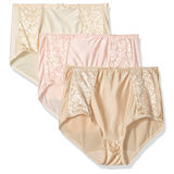Bali Double Support Brief 3-Pack DFDBB3
