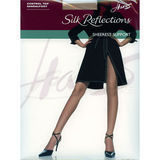 Hanes Hosiery 0B750  Silk Reflections Sheerest Support Control Top ST Pantyhose