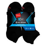 Hanes Men's X-Temp Comfort Cool No Show Sock 6-Pk CC12/6