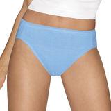Hanes Ultimate Comfort Cotton Womens Hi-Cut Panties 5-Pack 43HUCC